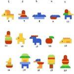 Схемы сборки животных из конструктора «Лего»