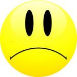 Смайл грустный