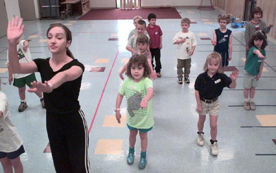 знакомства с видами театра в детском саду