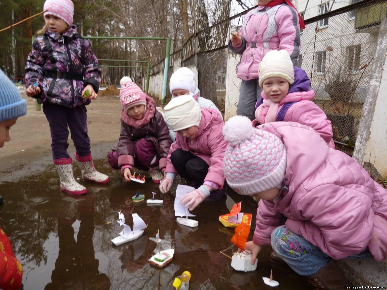 Весенние детские игры на улице картинки