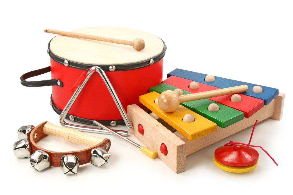 Днем рождения, картинки музыкальных инструментах для детей