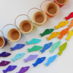 Набор цветовых фигурок