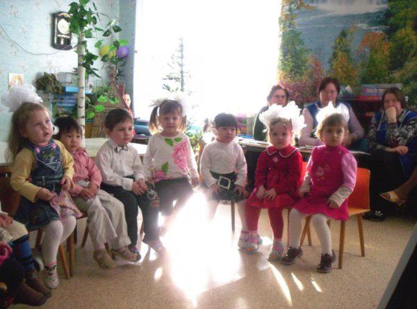 Открытое занятие с младшими дошкольниками