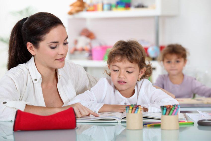 работа воспитателей
