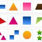 Карточки с геометрическими фигурами «Исключи лишнее»