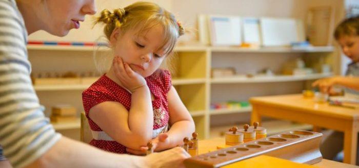 Система развития Монтессори предполагает благоприятную среду и гибкий подхад к каждому ребёнку