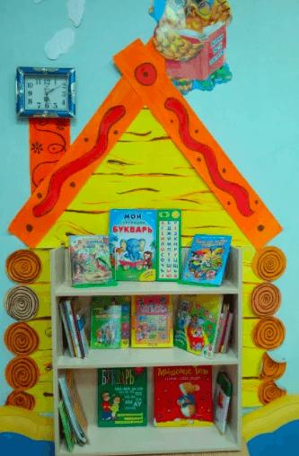 Уголок «Книжный дом»
