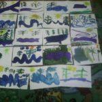 Выставка рисунков на тему «Вода в природе»