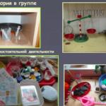 Примеры создания условий для познавательно-исследовательской деятельности дошкольников