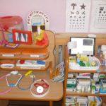 Атрибуты для игры в поликлинику