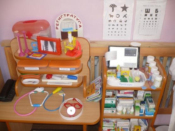 Атрибуты для больницы в детском саду картинки