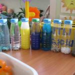 Бутылочки с водой