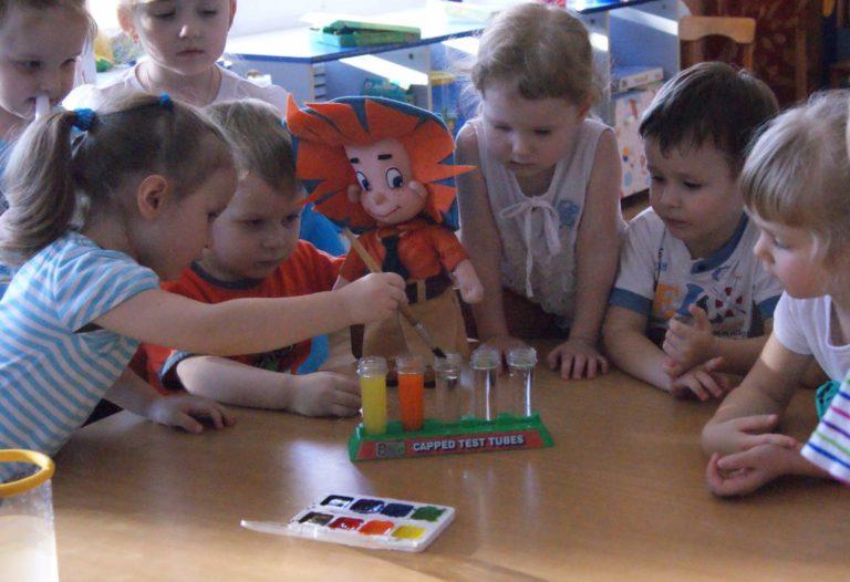 Самостоятельная деятельность детей в средней группе