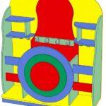 Эскиз мебели для физкультурного уголка