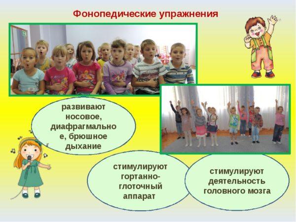 Фонопедические упражнения