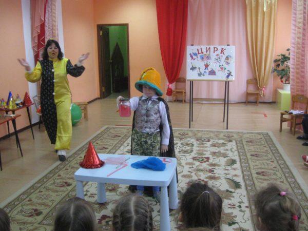 Игра «Цирк»