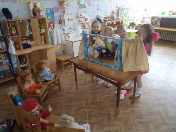 Игра «Кукольный театр»