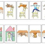 Игра с картинками для изучения предлогов