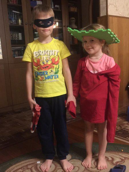 Игра в супергероев