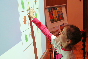 Использование проектора в детском саду