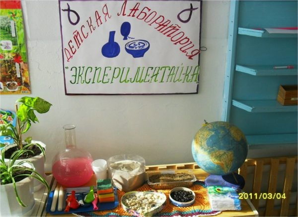 Лаборатория «Экспериментай-ка»