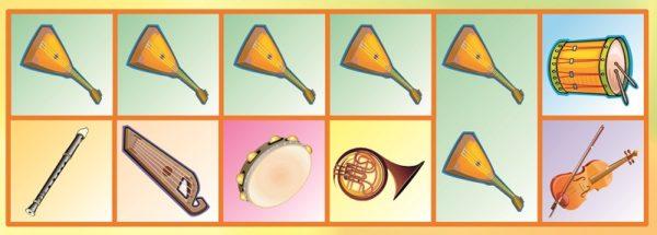 Музыкальное домино