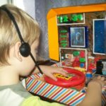 Оформление игры «Космический полёт»