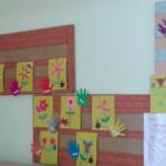 Выставка детских поделок, выполненных в технике аппликации