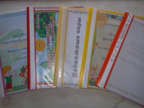 Паспорта уголков