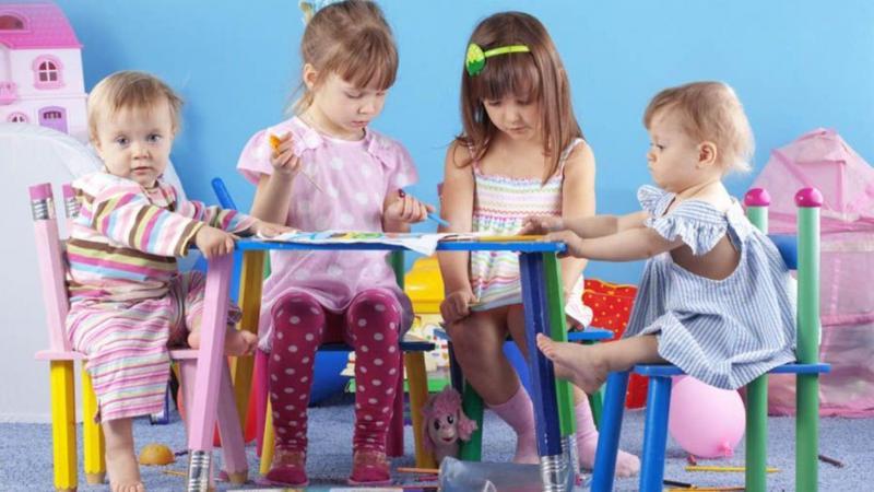 Разновозрастная группа в детском саду