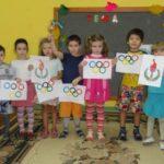 Рисование «Символы Олимпиады»