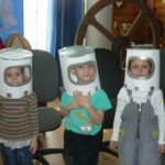 Шлемы космонавтов