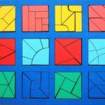 Сложные варианты игры «Сложи квадрат»
