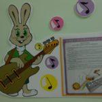 Стенд с изображением зайца из мльтфильма «Ну, погоди!»