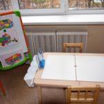 стол и стул для конструирования