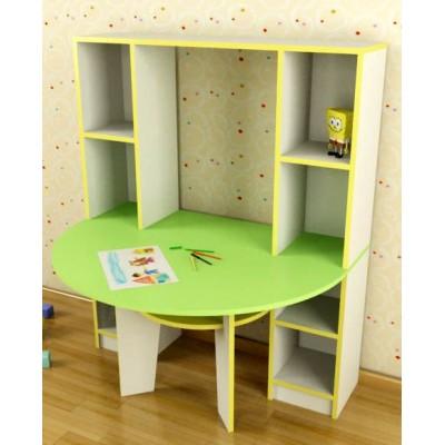 Столик, совмещённый со стеллажом