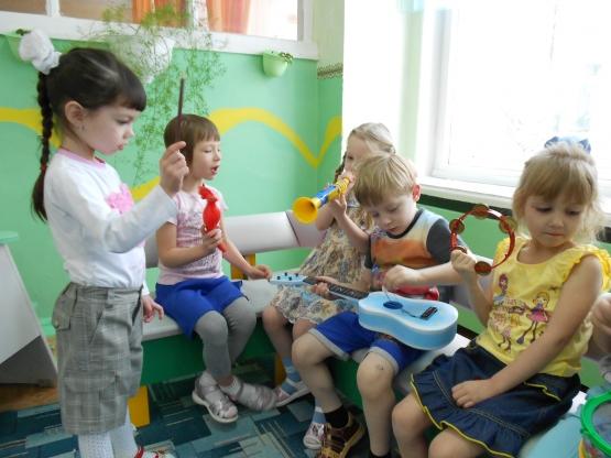 Самостоятельная деятельность детей в подготовительной группе