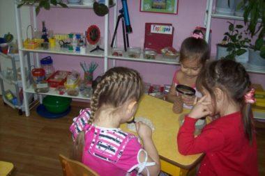 Уголок экспериментирования привлекателен для детей всех возрастных групп насыщенной материальной базой и возможностью почувствовать себя первооткрывателем