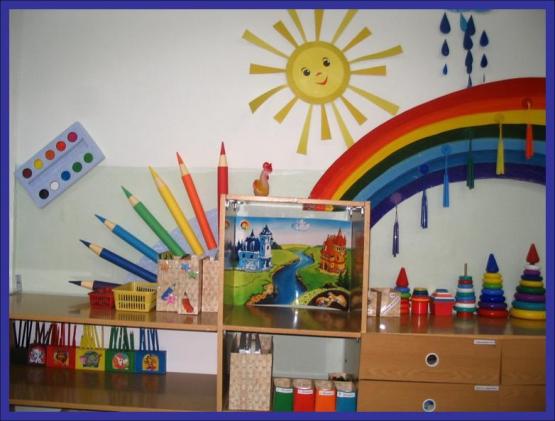 Оформление изо в детском саду своими руками фото по фгос