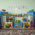Уголок конструирования в старшей группе с мебелью