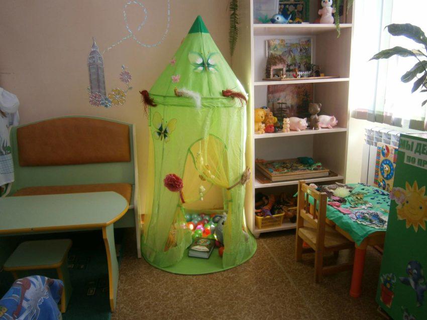 Уголок уединения в детском саду оформление фото своими руками фото фото 779
