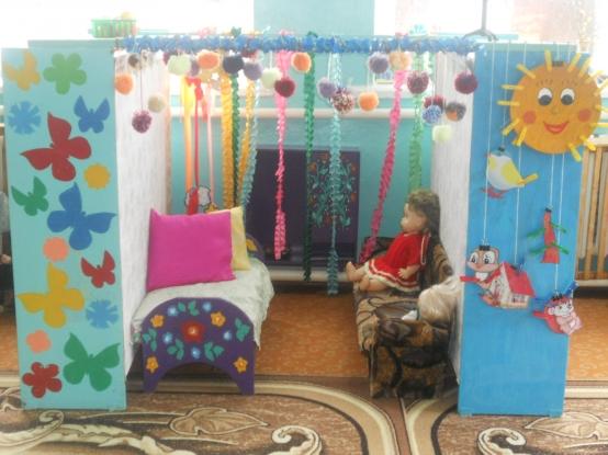 Уголок уединения в детском саду оформление фото своими руками фото фото 47