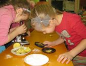 Дети 6-7 лет уверенно проводят практические исследования при помощи разнообразных приборов и инструментов