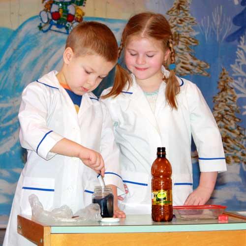 Экспериментирование с газированной водой