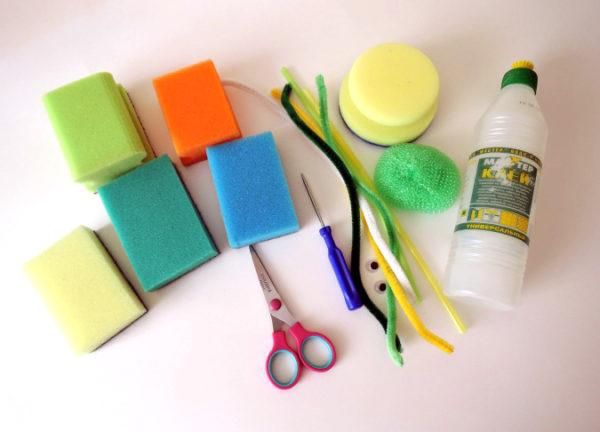 Материалы и инструменты для поделки