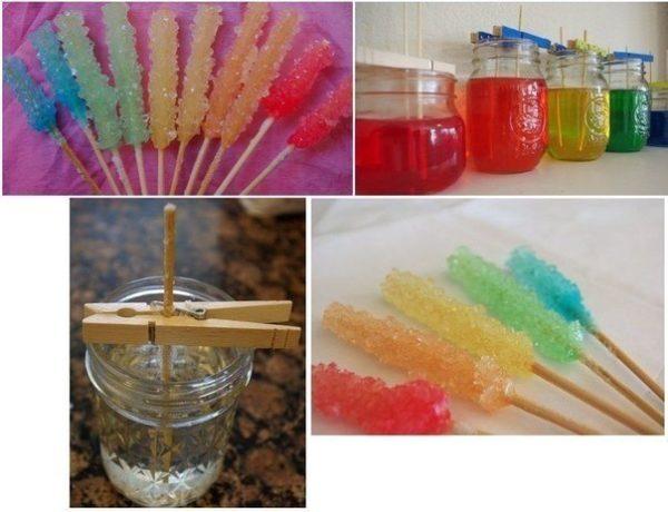 Опыт «Сахарные кристаллы»