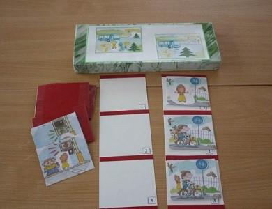 Пустые карточки и карточки с картинками