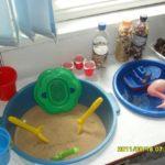 Уголок «Песок-вода»