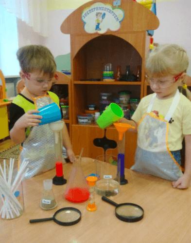 Занятие в «Экспериментариуме»