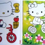 Дидактическое пособие-аппликация «Hello Kitty»